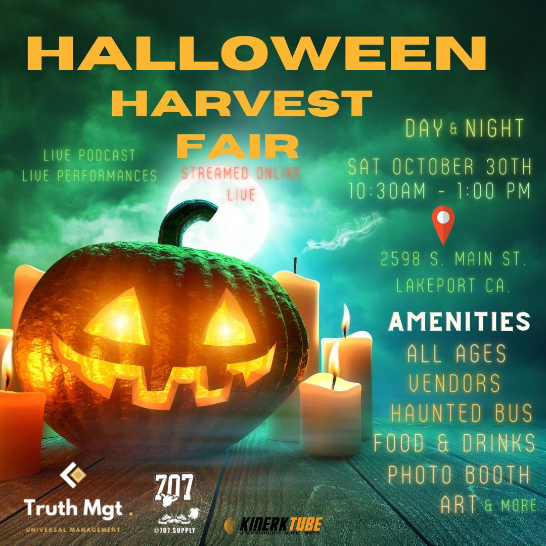 Halloween Harvest Fair Ticket