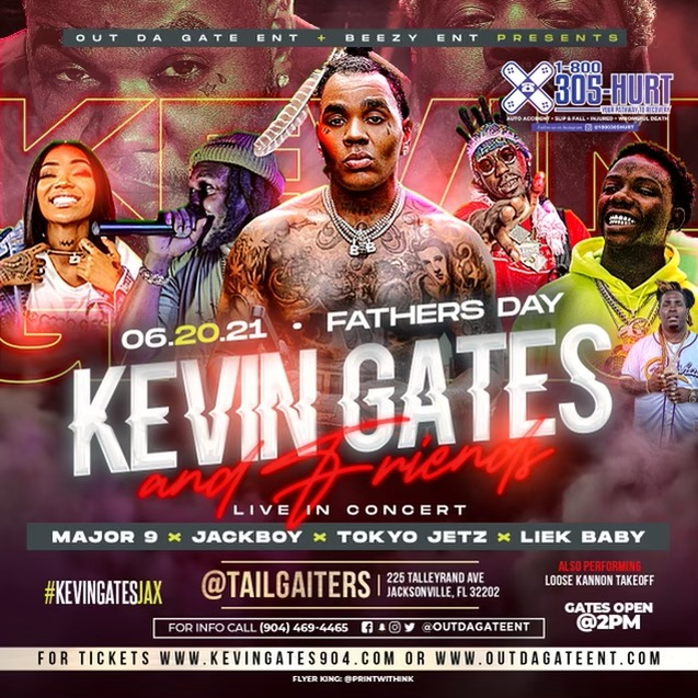 Kevin Gates and Friends Jacksonville
