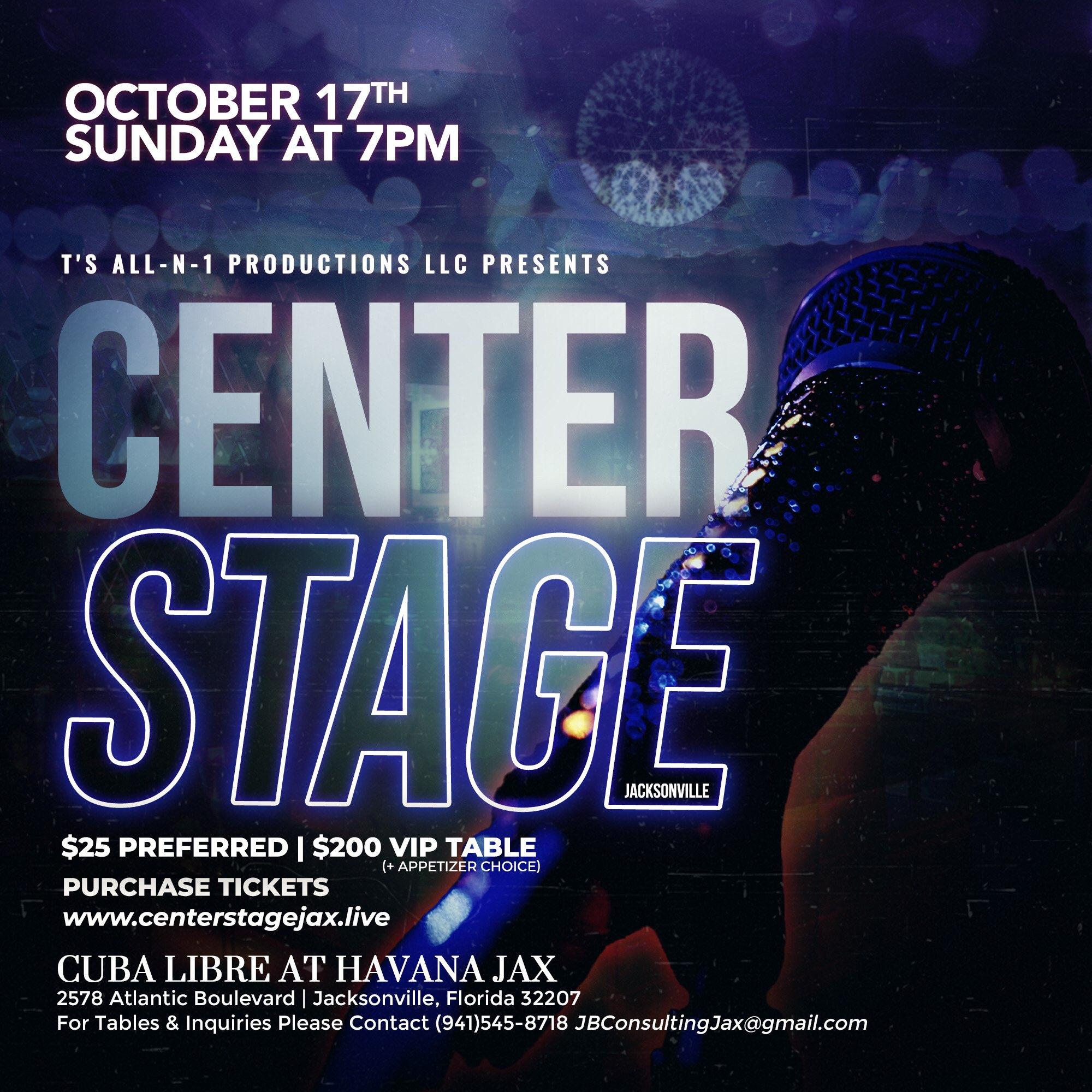 Center Stage Jax